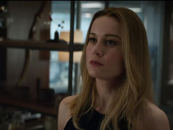 New Avengers: Endgame footage shows Brie Larson's first day as Captain Marvel