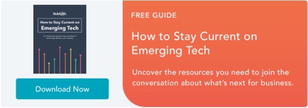 Stay up to date with Emerging Tech