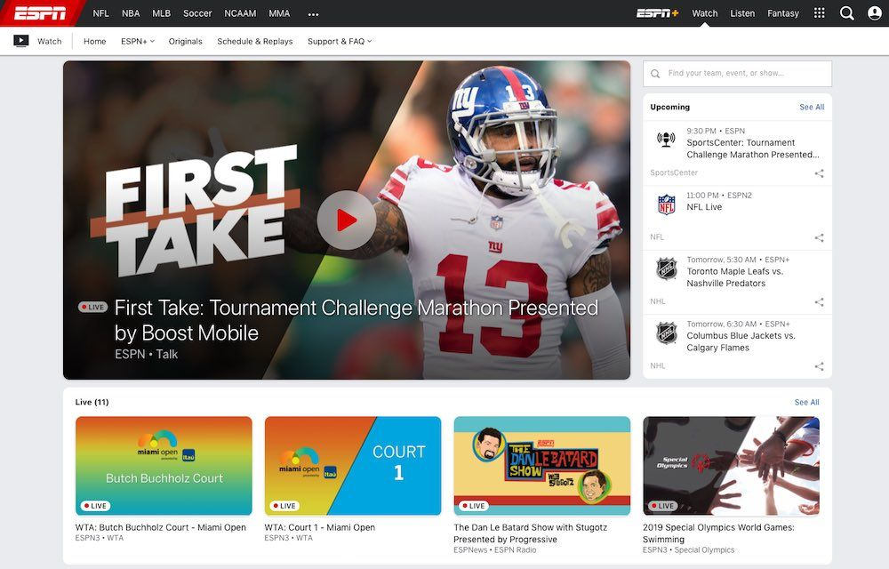 9 Best Free Sports Streaming Sites For 2020 | Watch Games Legally
