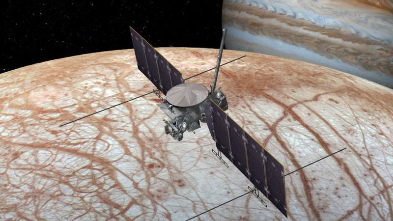 SpaceX could send NASA to Jupiter's potentially habitable moon Europa