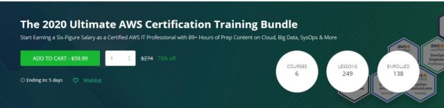 2020 Ultimate AWS Certification
