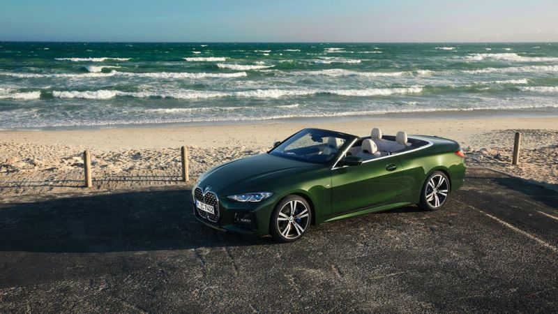 2021 BMW 4 Series Convertible: No roof, same horrifying face