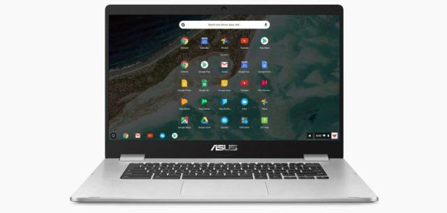 Asus C523NA touchscreen Chromebook