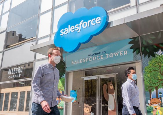 Salesforce creates for profit platform to help governments distribute COVID vaccine when it's ready – ProWellTech