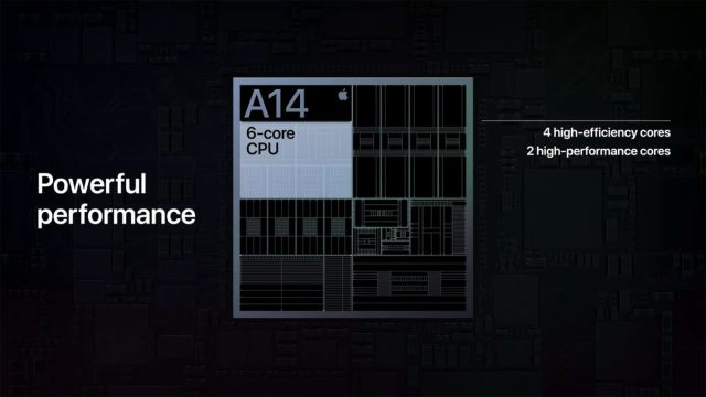 Apple A14 Bionic Chip 6 Core CPU