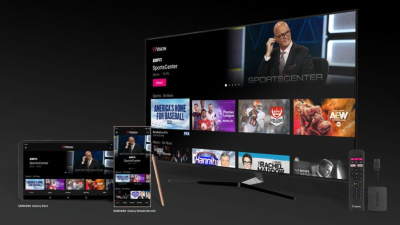 T-Mobile intros three streaming TV services and an Android TV dongle