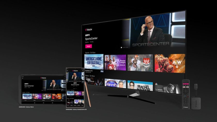 t Mobile TV streaming service Android TV hub