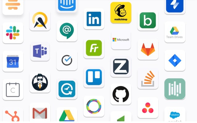 Company logos in the Zoom Apps marketplace