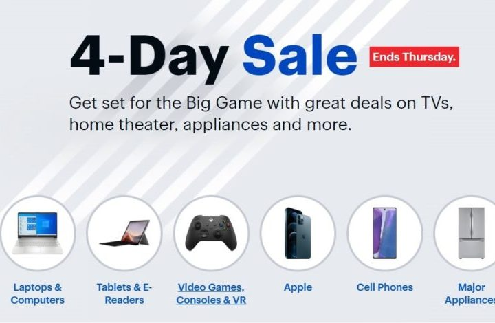 Save up to 50% on top tech in the Best Buy 4-Day Sale