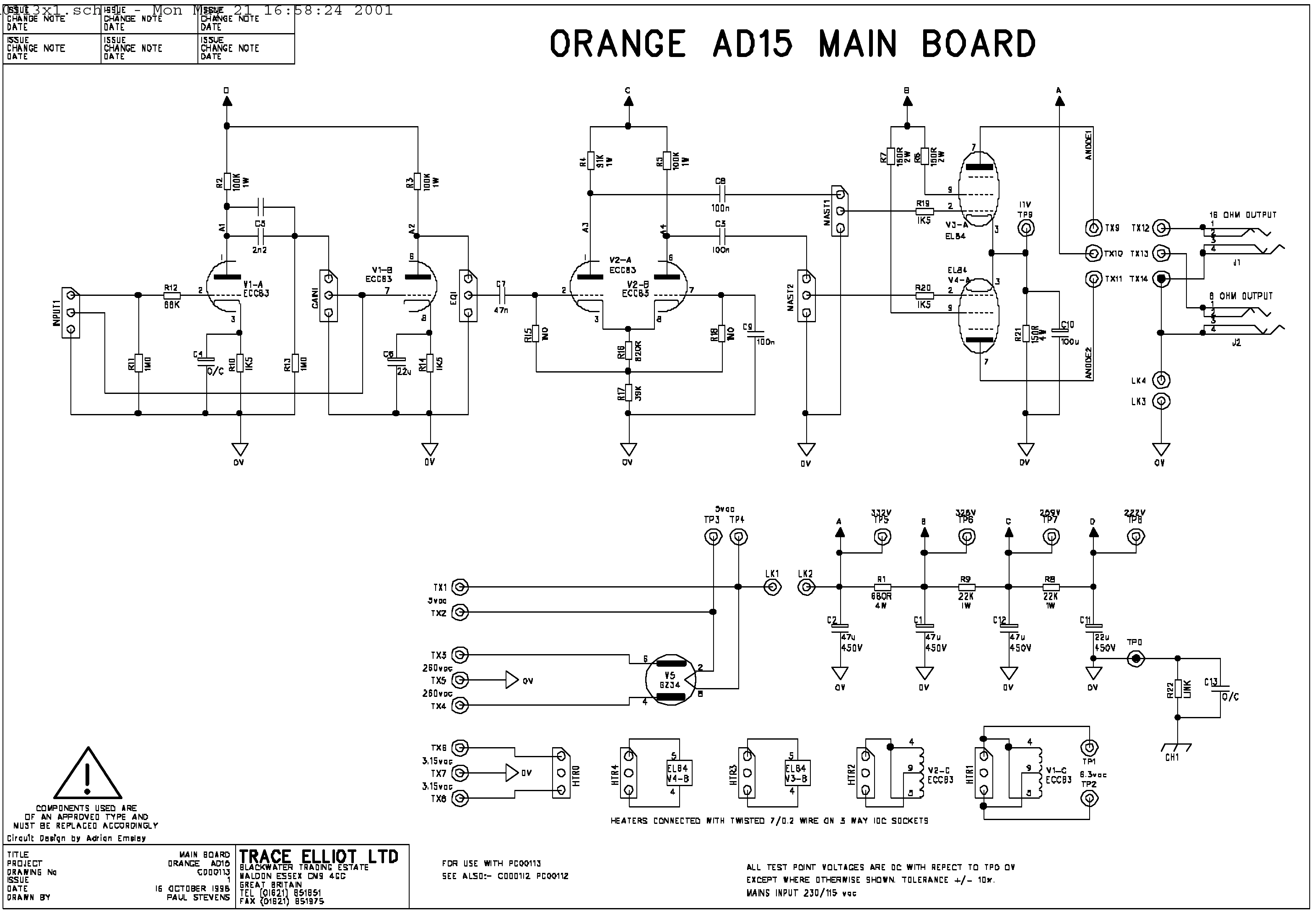 30 Amp Esc Wiring Diagram Help With Gz34 Diyaudio