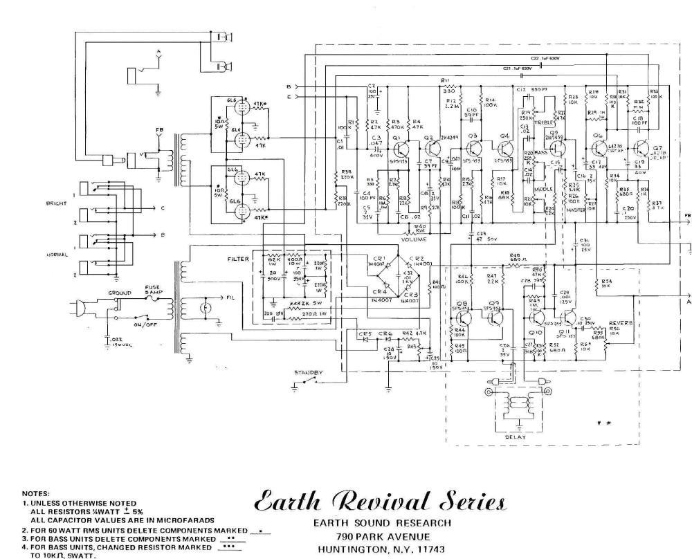 medium resolution of alamo amp schematics