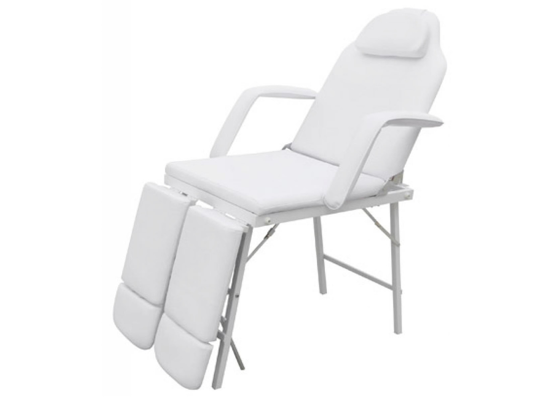 white multi purpose salon chair dining seat cushions target reclining