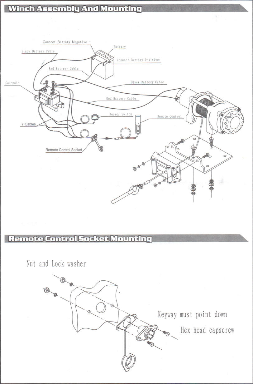 medium resolution of winch motor wiring diagram