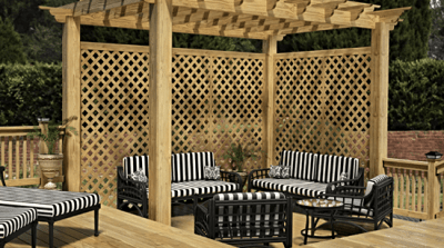 Benefits and Uses of PressureTreated Wood Lattice