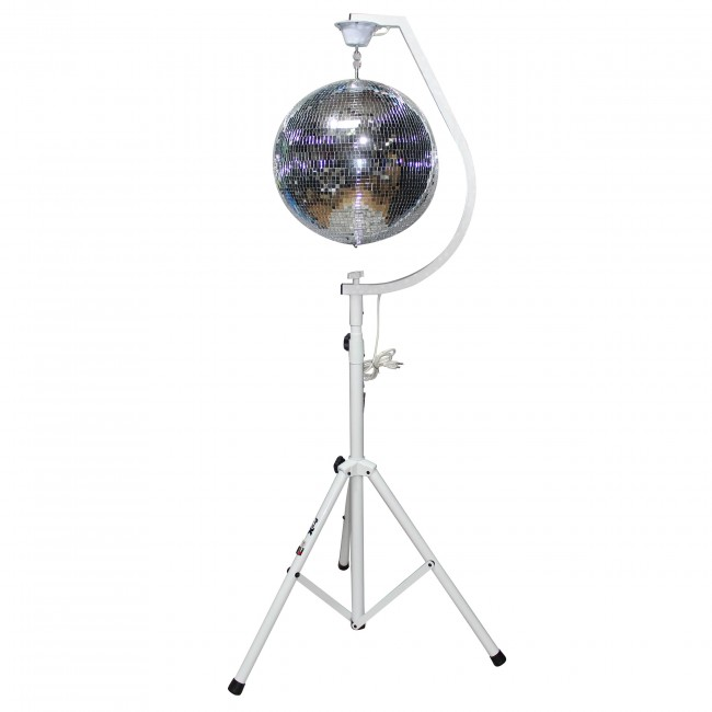 Mirror Ball/Stands Package 2 X-MB20STAND & 2 MB-20 & T