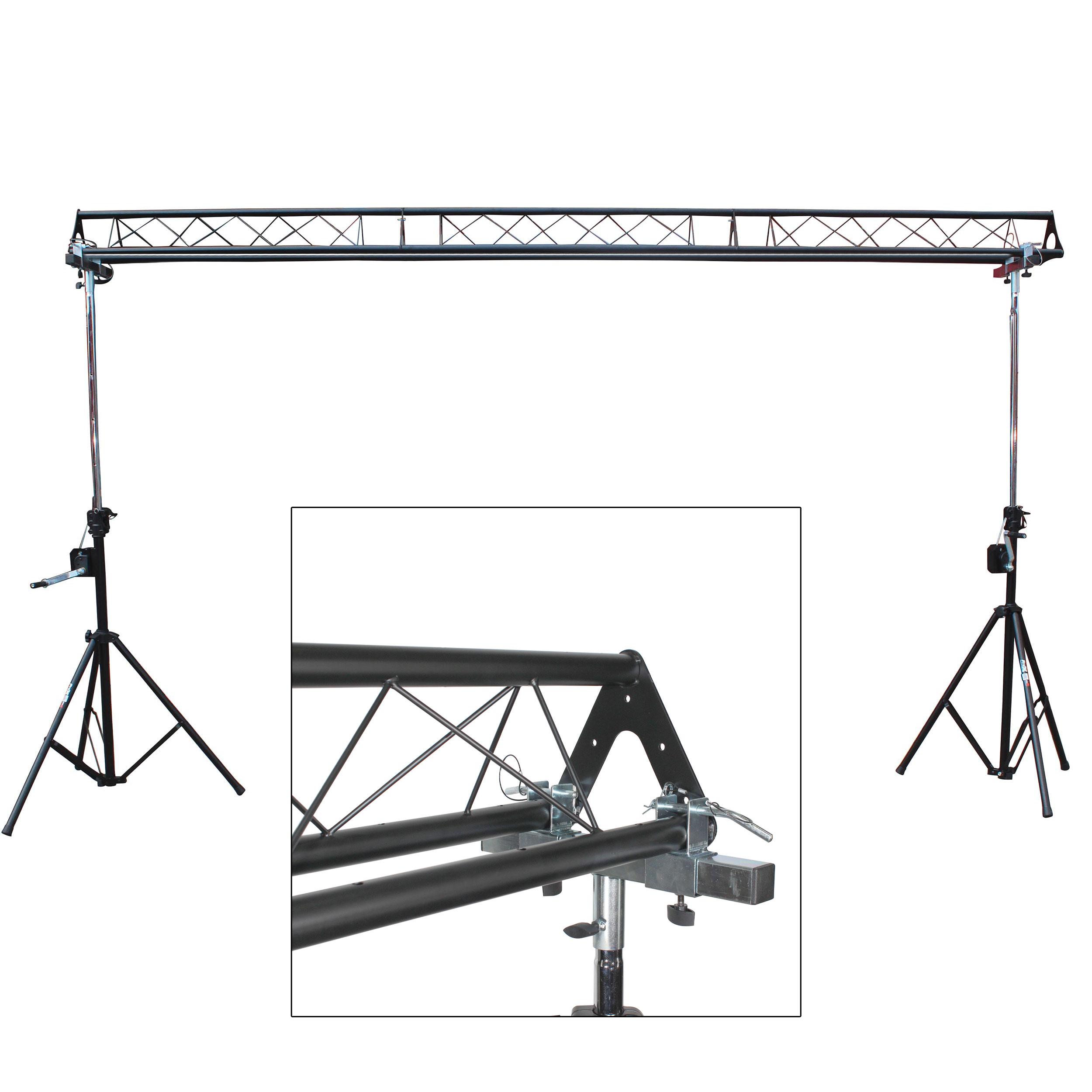 dj production crank up lighting system
