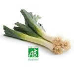 Poireau bio made in Alsace