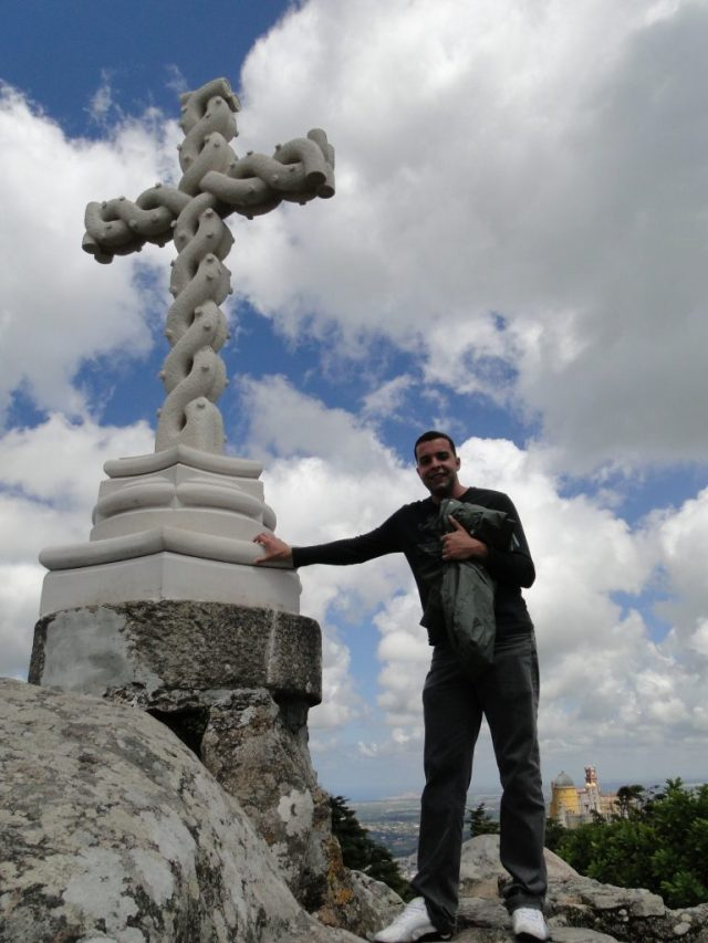 sintra cruz palacio pena