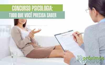 Concurso Psicologia: Tudo que Você Precisa Saber