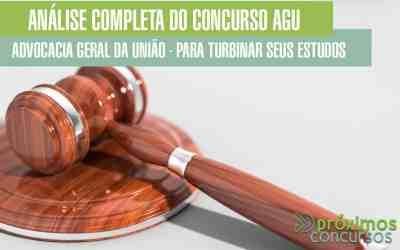 Análise Completa do Concurso AGU (Advocacia Geral da União) para Turbinar seus Estudos