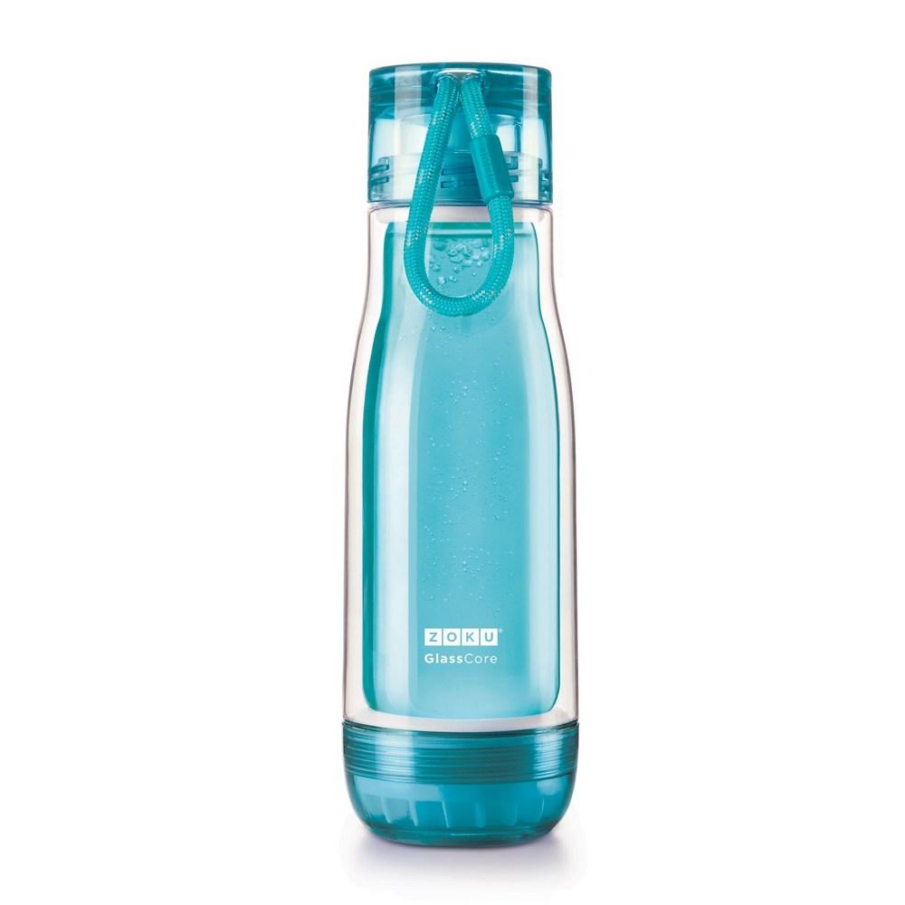 ZOKU臺灣官方網站   ZOKU繽紛玻璃雙層隨身瓶(475ml)