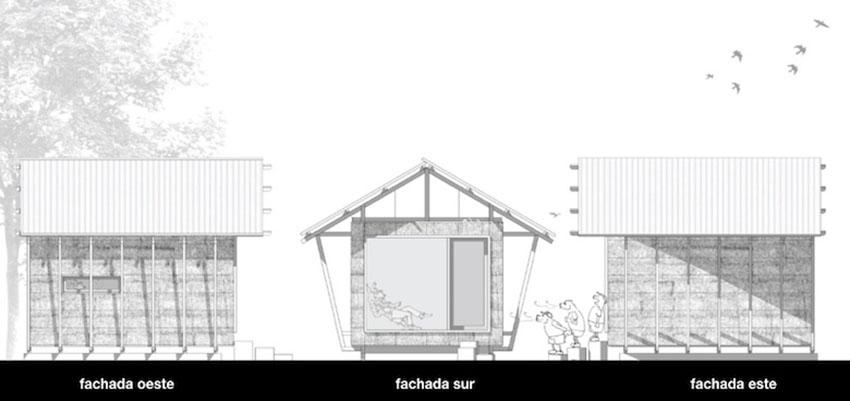 planos de casa de paja