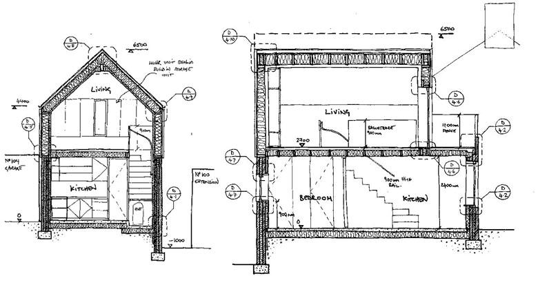10 planos de casas entre medianeras que no debes dejar de conocer ...