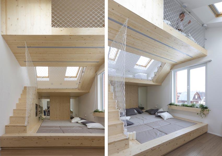 27 ideas para dise ar espacios peque os y aprovechar el for Habitaciones pequenas aprovechar espacio