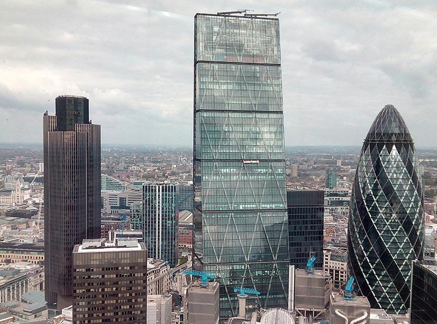 edificios con las mejores vistas de Londres-vistas desde el walkie talkie