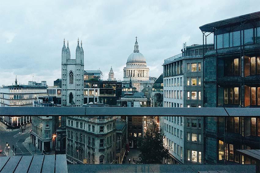 edificios con las mejores vistas de Londres-st.paul desde el bloomberg