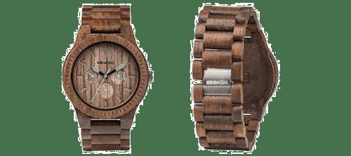 Este reloj de madera es un regalo para arquitectos muy original
