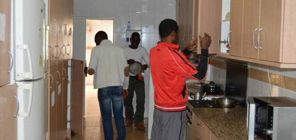 proyecto abraham - vivienda acogida cocina
