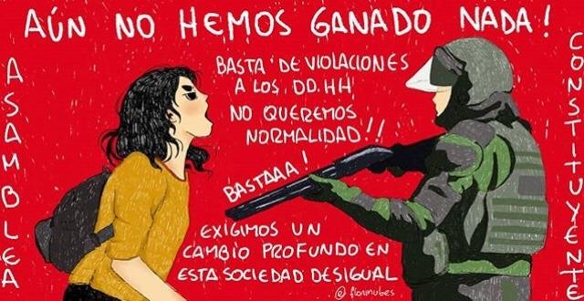 """""""Aún no hemos ganado nada"""". Autora: @FloriNubes"""
