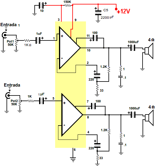 Tda 4935 Bridge Amplifier