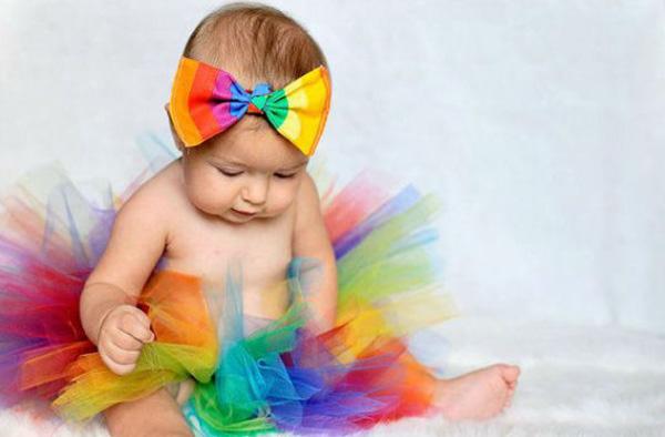 bebés arcoíris