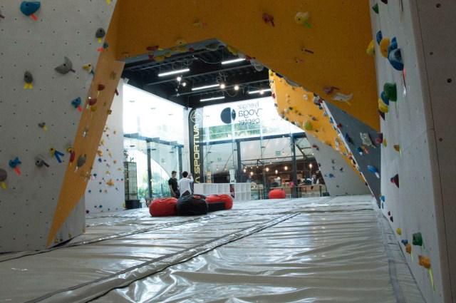 centro de escalada