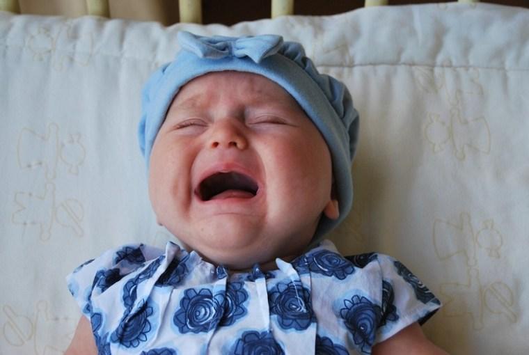 tipos de llanto en el bebé