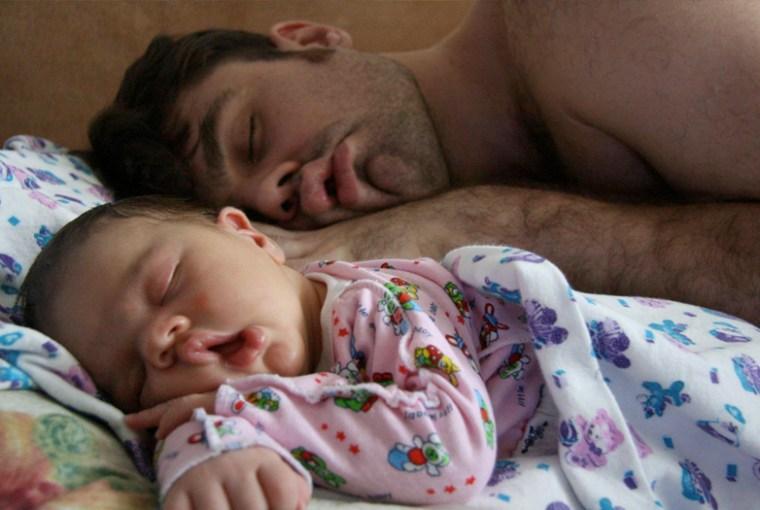 hijos tienen más rasgos de papá que de mamá