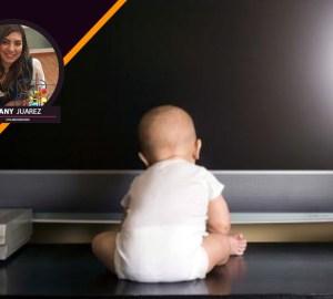 Televisión en menores de dos años