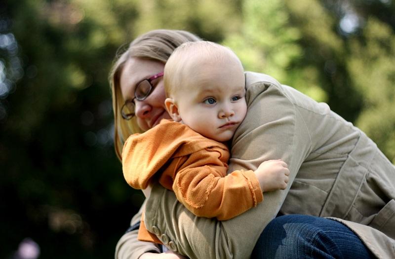 Lo abrazas
