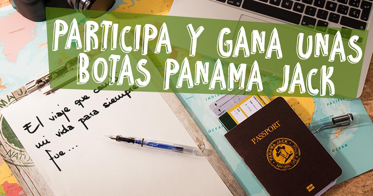 PARTICIPA Y GANA UNAS BOTAS PANAMA JACK - Proyecto Pandora