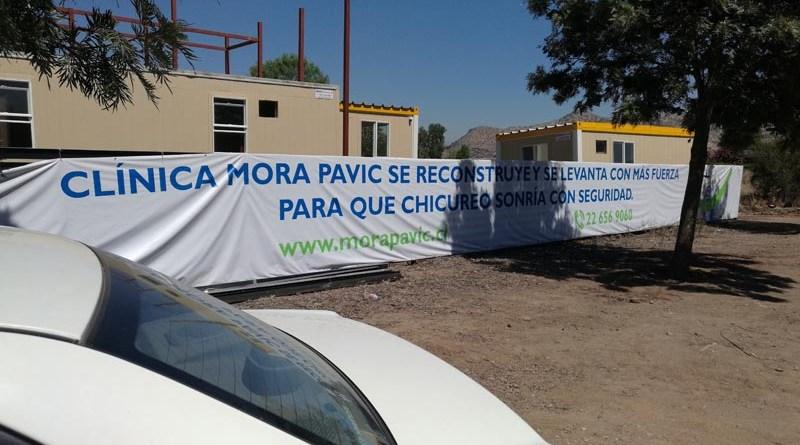 Instalaciones sanitarias para Clínica odontológica Mora Pavic Chicureo