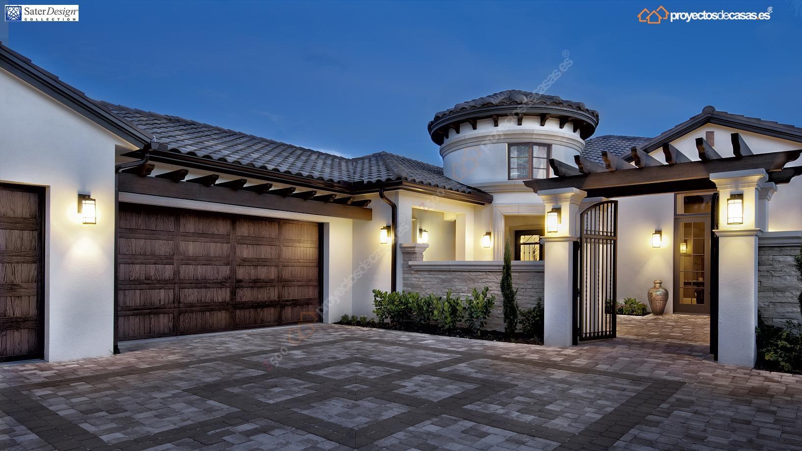 Proyectos de Casas  Marbella Casa de lujo estilo toscana  ProyectosDeCasas  diseamos y