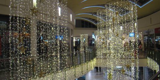 Empresa de iluminación y decoración navideña vacios