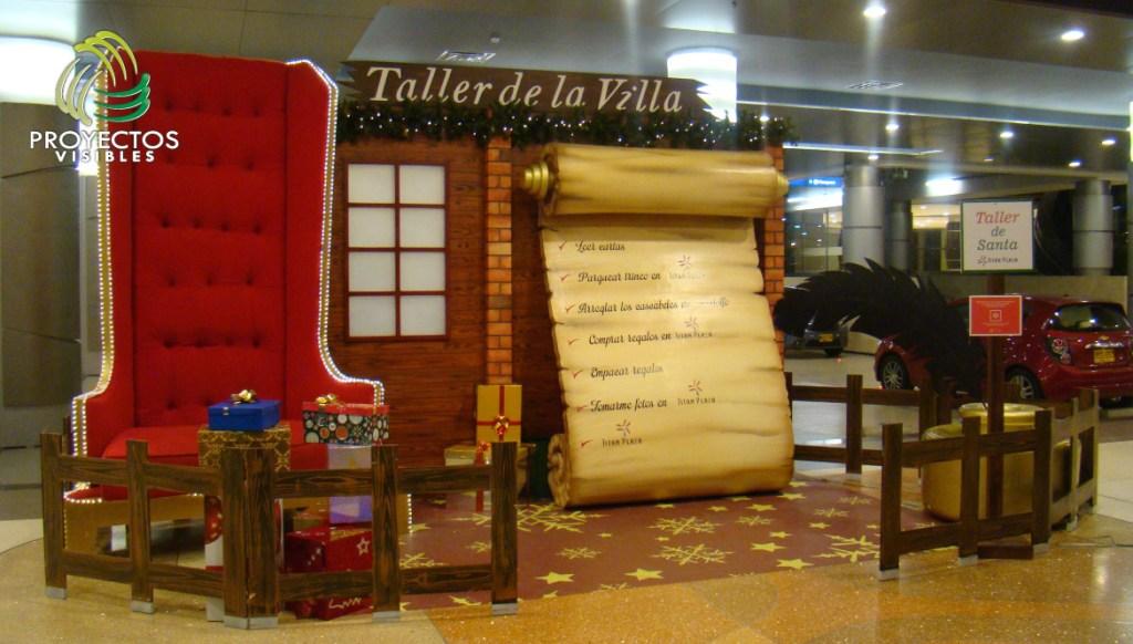 Escenarios taller de navidad