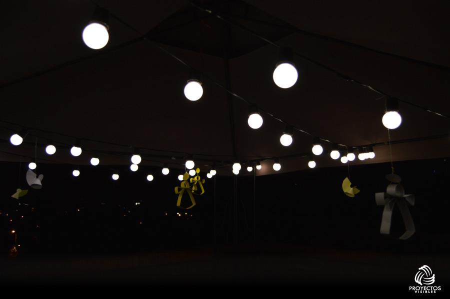 Iluminación para eventos como aniversarios