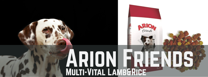 Pinso Arion Friends Multi-Vital Lamb&Rice