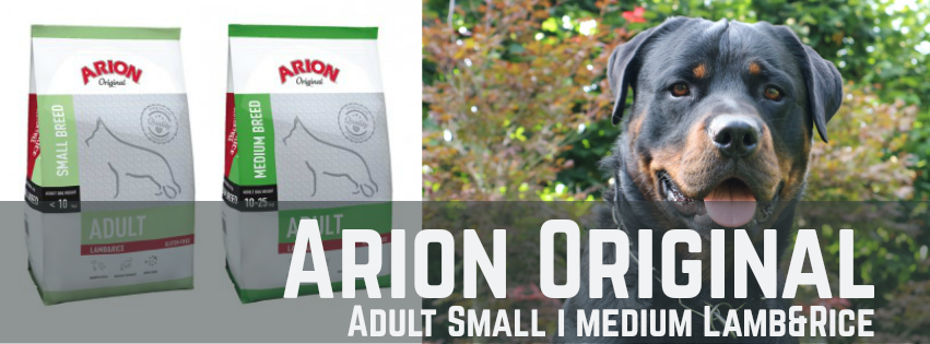 Pinso Arion Original Small i Medium Lamb&Rice per Gossos