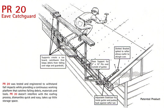 Safety Guardrail systems, Protective Roofing Products LTD