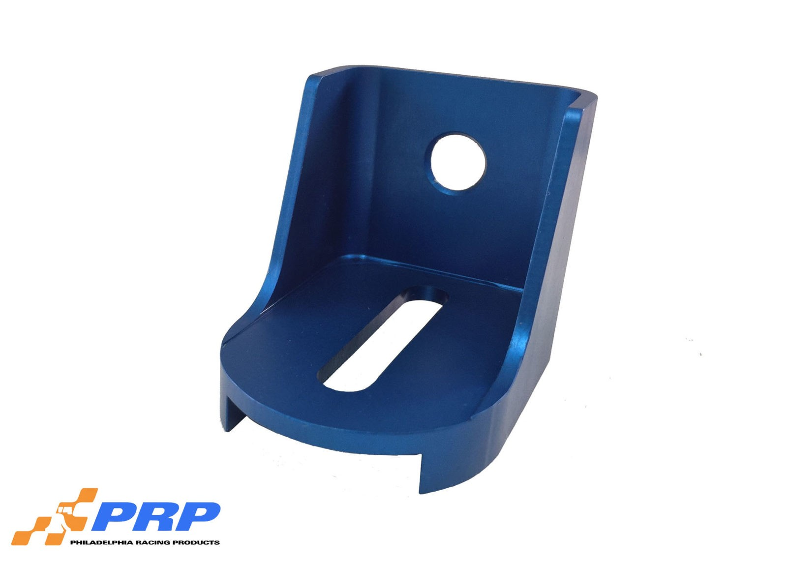 Blue Lokar Kickdown Detent Cable Bracket made by PRP Racing Products